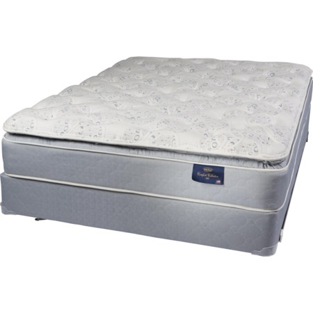 Full Two Sided Pillow Top Mattress Set