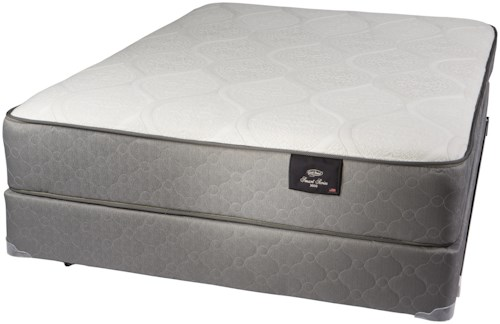 Gold Bond Mattress Company Smart Series 4500 Queen Hybrid Two Sided Mattress and Limited-Deflection Box Spring