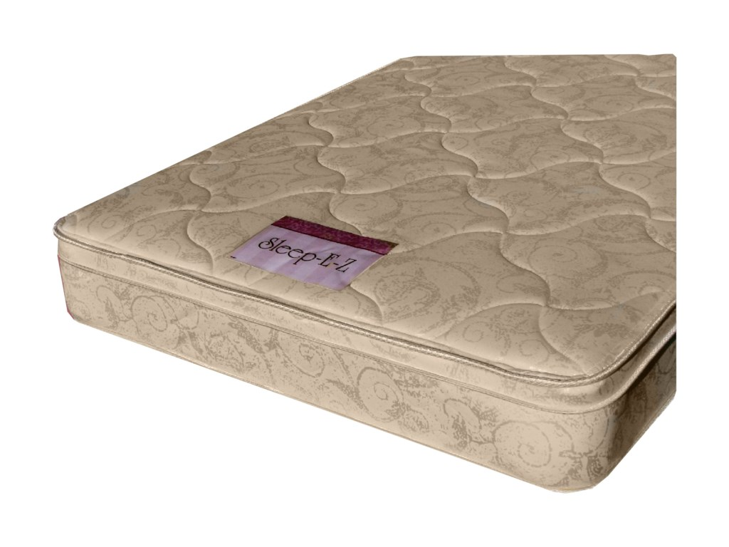 Golden Mattress Company 2-Sleep EZ Pillow TopFull Pillow Top Mattress Set