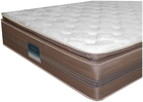 Golden Mattress Company 4-Royal Pillow Top Twin Pillow Top Mattress and 9