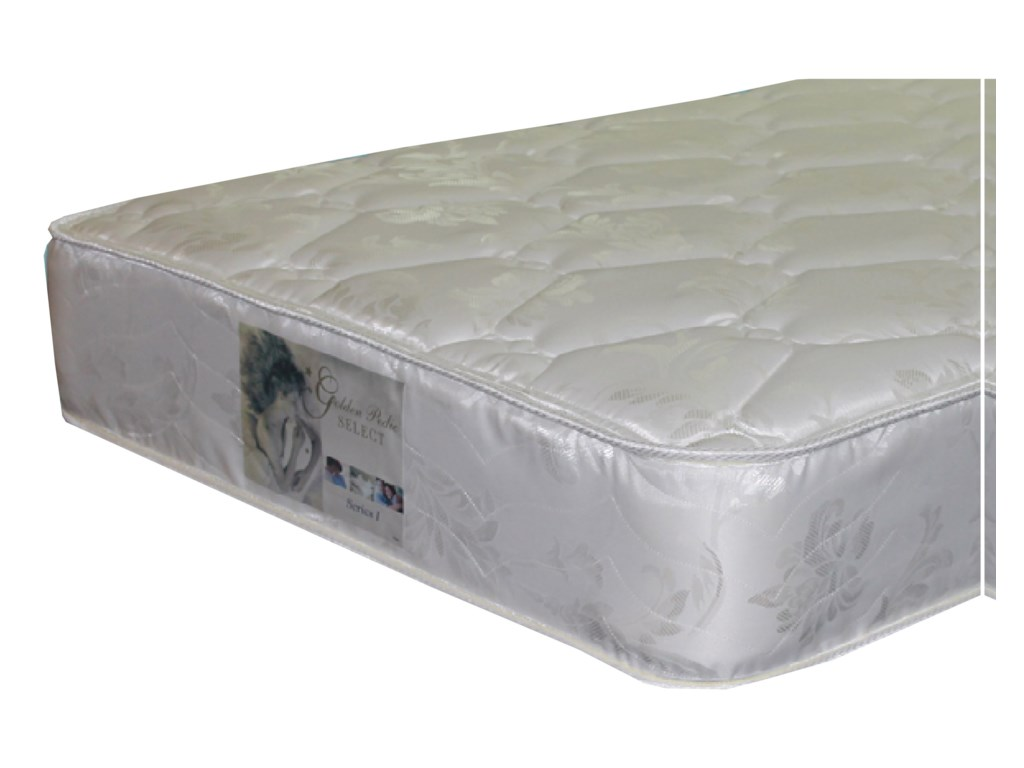Golden Mattress Company 5-Series I Double Sided PlushFull Two Sided Plush Mattress