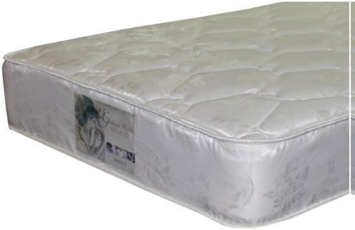 Golden Mattress Company 5-Series I Double Sided Plush Queen Two Sided Plush Mattress and 9