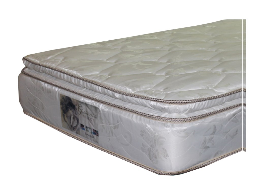 Golden Mattress Company 5-Series III PTQueen Pillow Top Mattress
