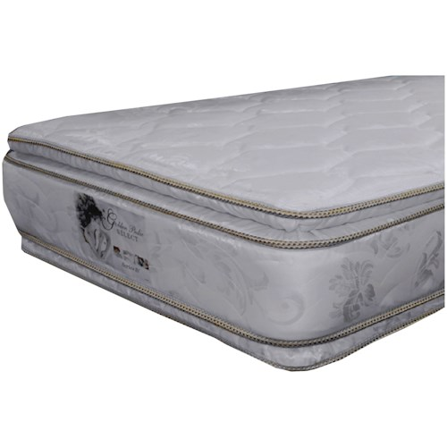 Golden Mattress Company 5-Series IV Double PT Full Two Sided Pillow Top Mattress