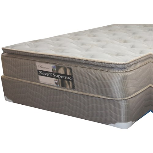 Golden Mattress Company 6-Princess PT King Pillow Top Mattress and 9