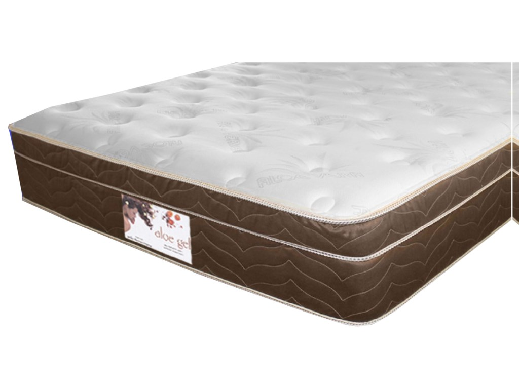 Golden Mattress Company Gel-Cool Aloe Gel Euro TopTwin Euro Top Mattress