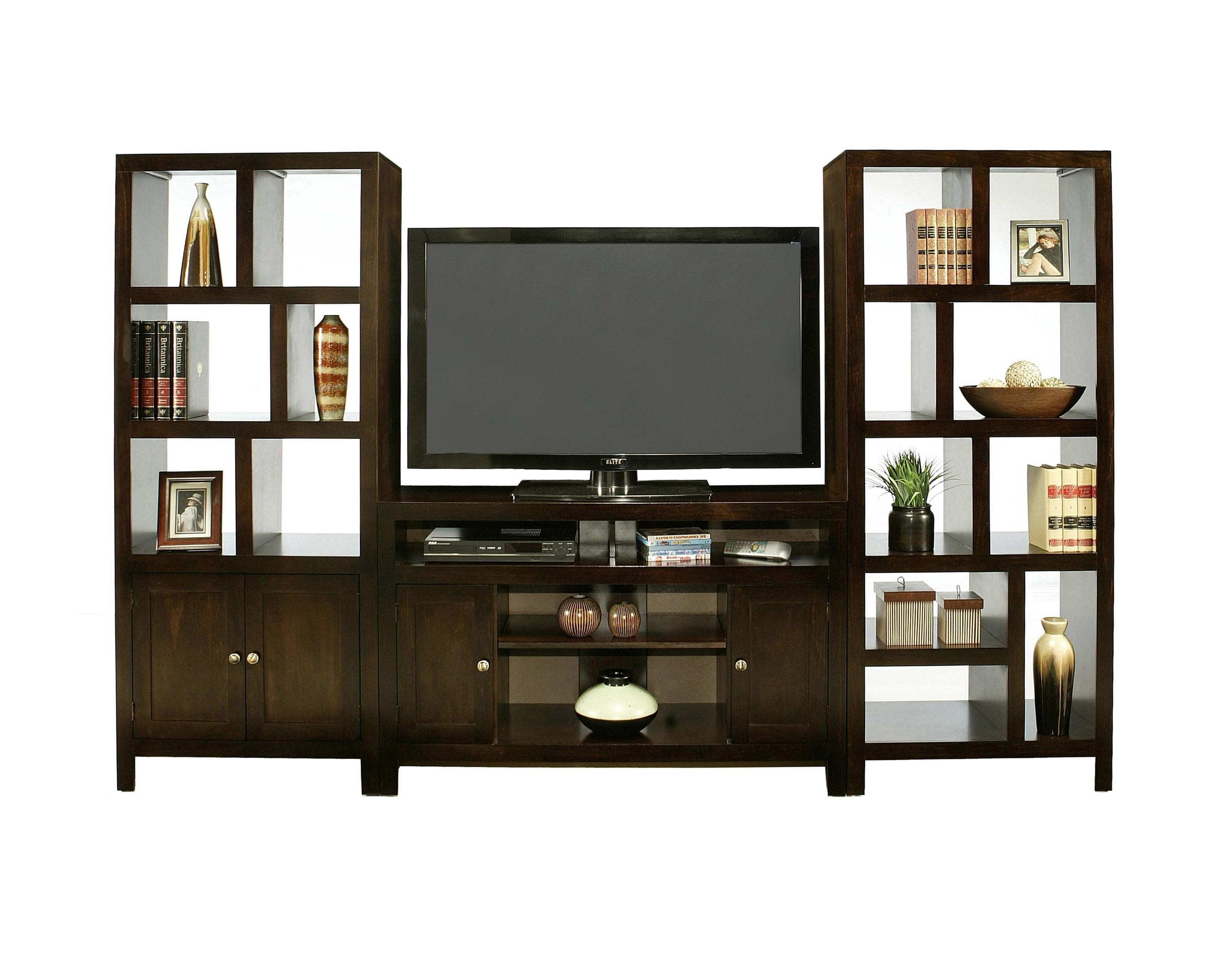 Shown With Room Divider Tower With Door And TV Console