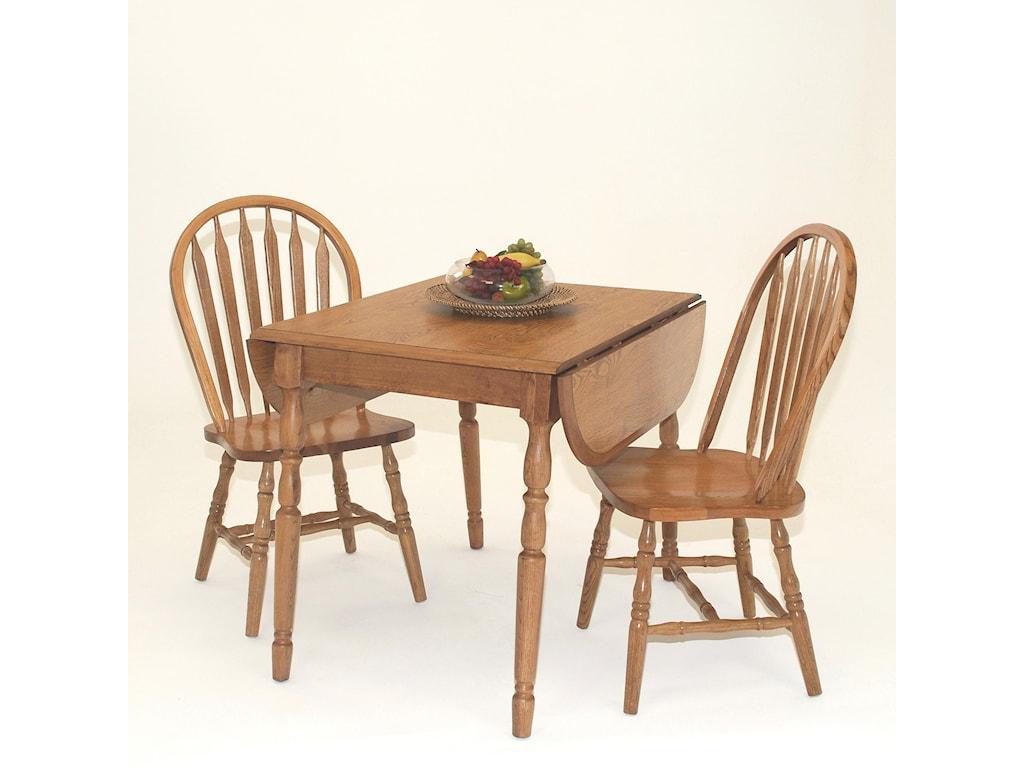 GS Furniture Classic OakArrowback Side Chair
