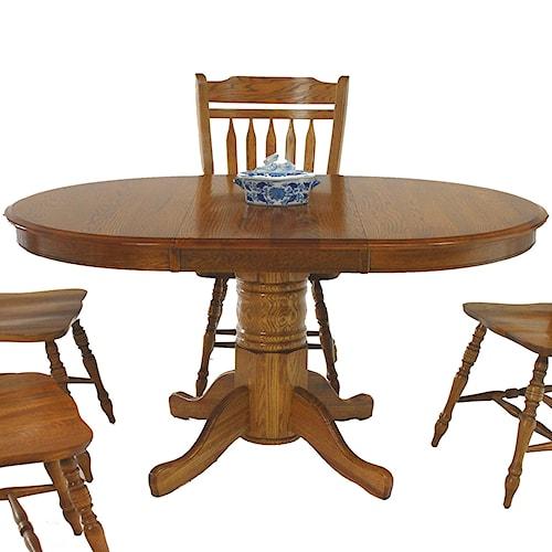 GS Furniture Classic Oak 42