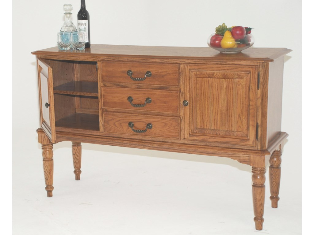 GS Furniture Classic OakServer