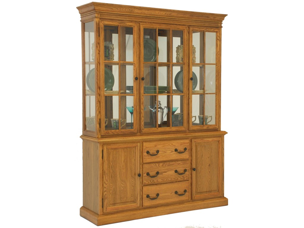 GS Furniture Classic OakBuffet