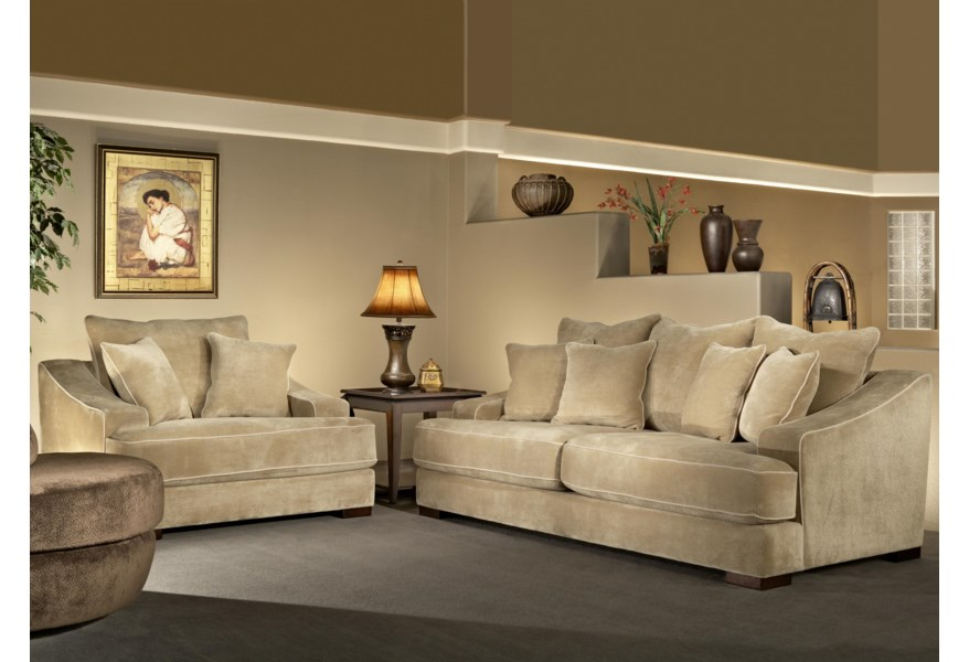 Magnificent Cooper Minx Mocha Sofa Sleeper With Back Toss Pillows By Fairmont Designs At Dream Home Interiors Camellatalisay Diy Chair Ideas Camellatalisaycom
