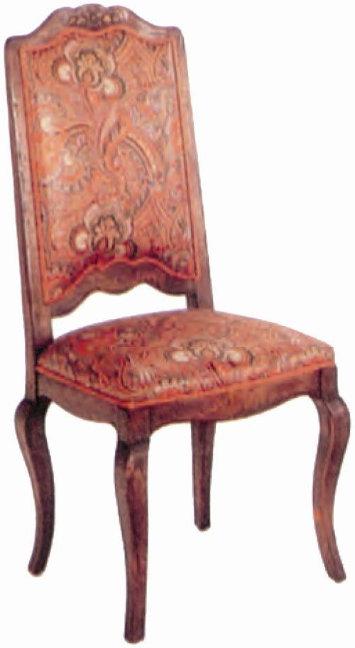 Guy Chaddock Melrose Custom Handmade Furniture Country French Ladderback Dining Side Chair