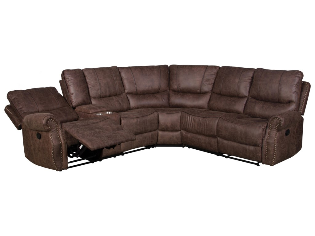 H317 Logistics 69773 Piece Reclining Living Room Sectional