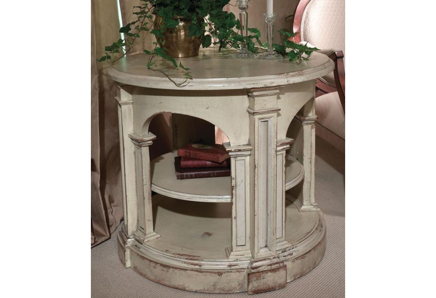 Habersham Occasional Tables Giovanni Round End Table