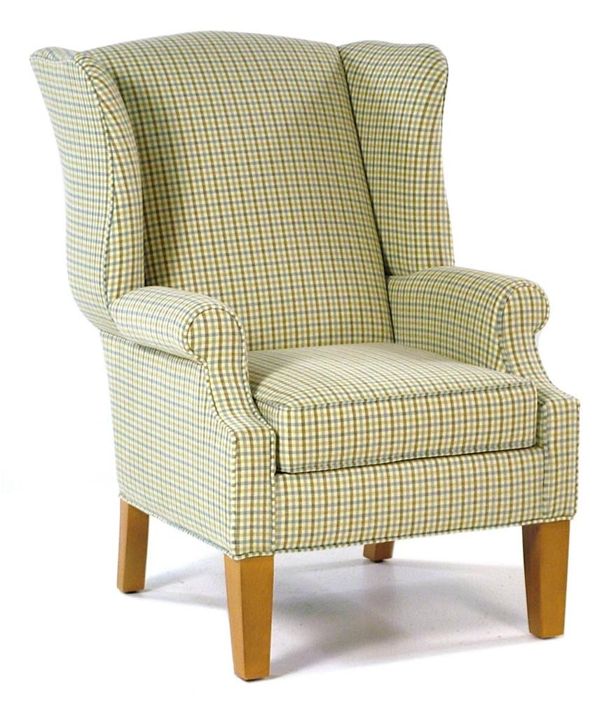 Hallagan Furniture Hamilton Wing Accent Chair