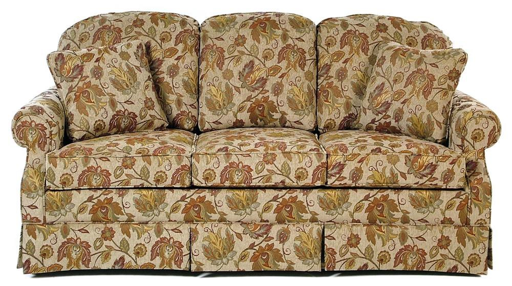 Exceptional Hallagan Furniture Seneca Skirted Sofa