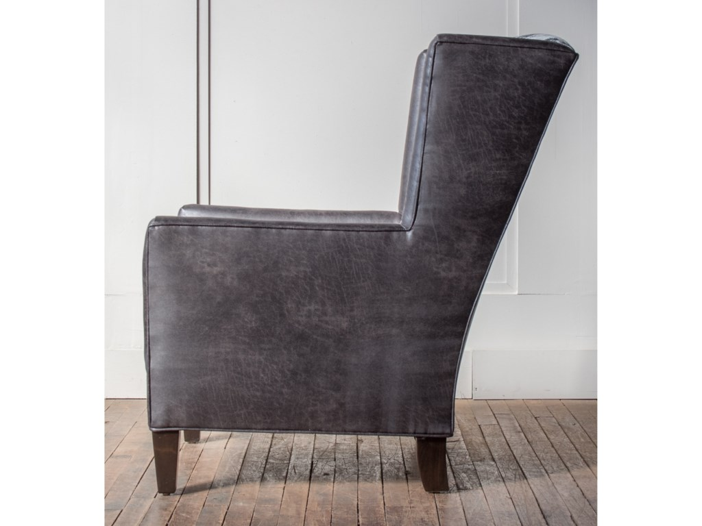 Hallagan Furniture Accent ChairsCustomizable Wing Chair