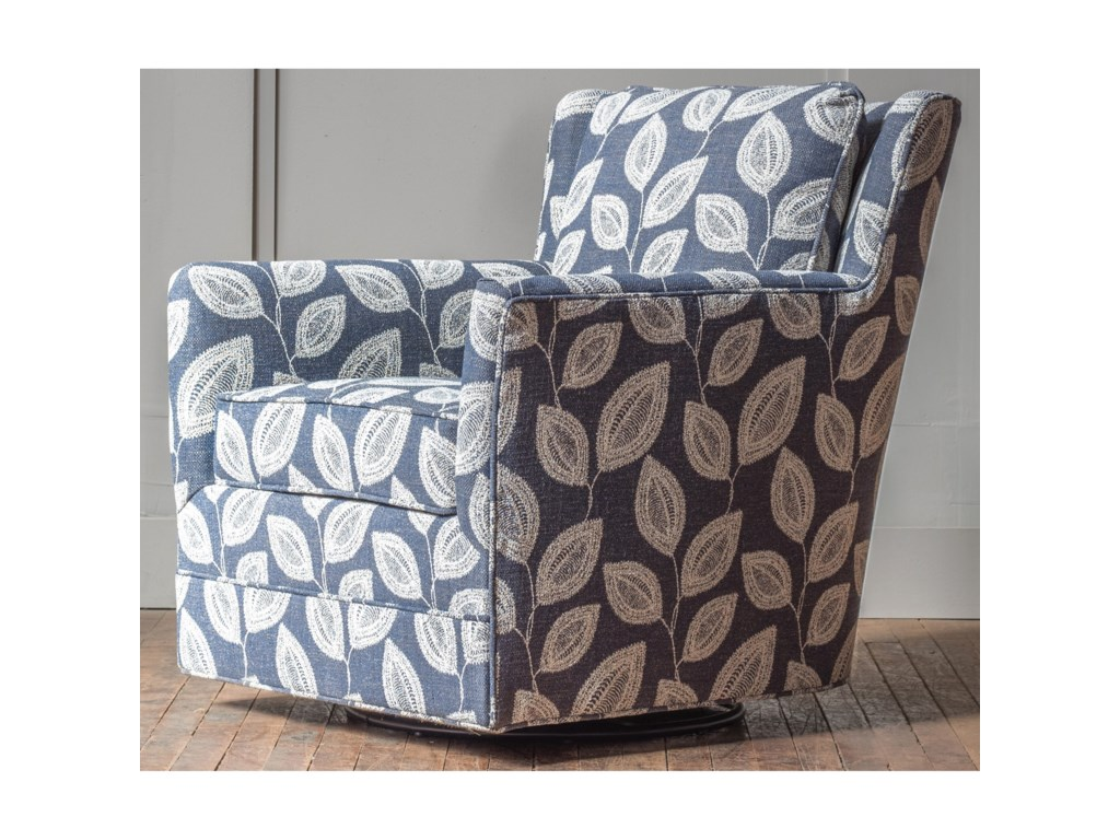 Hallagan Furniture Accent ChairsCustomizable Swivel Glider Accent Chair