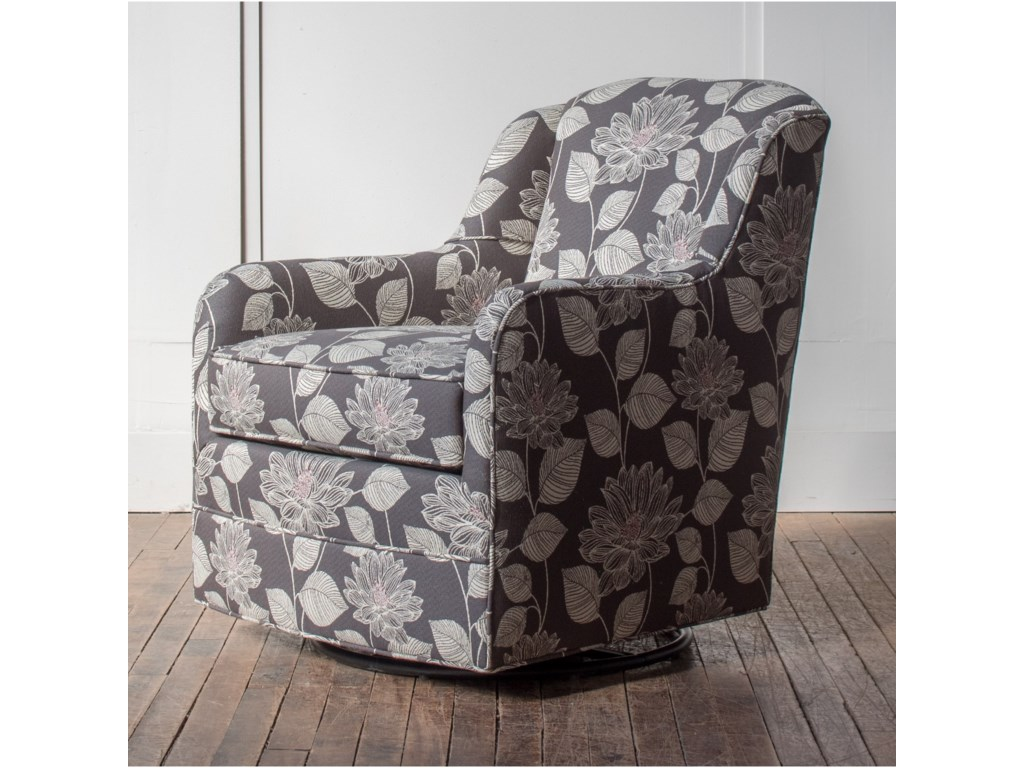 Hallagan Furniture Accent ChairsCustomizable Swivel Glider Chair