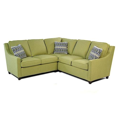 Hallagan Furniture Highland Park 2-Piece Sectional