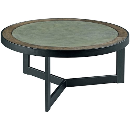 TABLE TRENDS 650 Round Cocktail Table