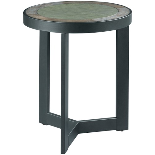 Hammary 650 Round End Table