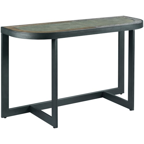 TABLE TRENDS 650 Rounded Sofa Table