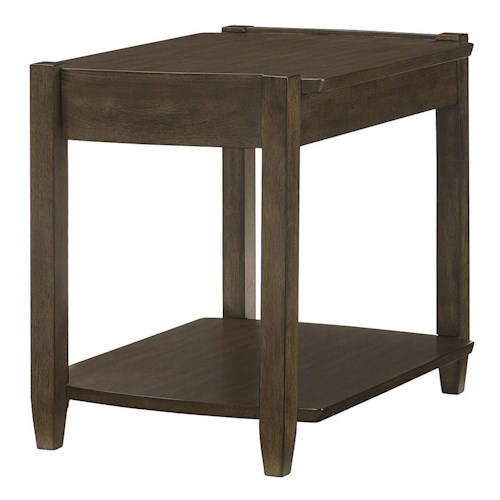 Hammary Alba Rectangular Drawer End Table