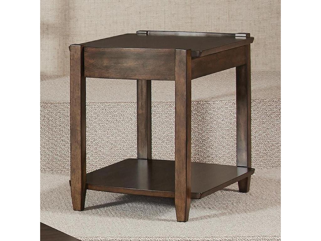 Morris Home AlbaRectangular Drawer End Table