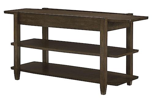 Hammary Alba Sofa Table