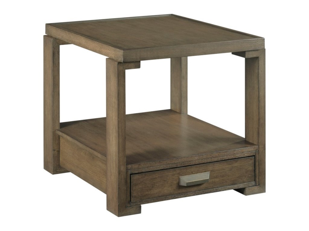 Hammary AmberRectangular Drawer End Table