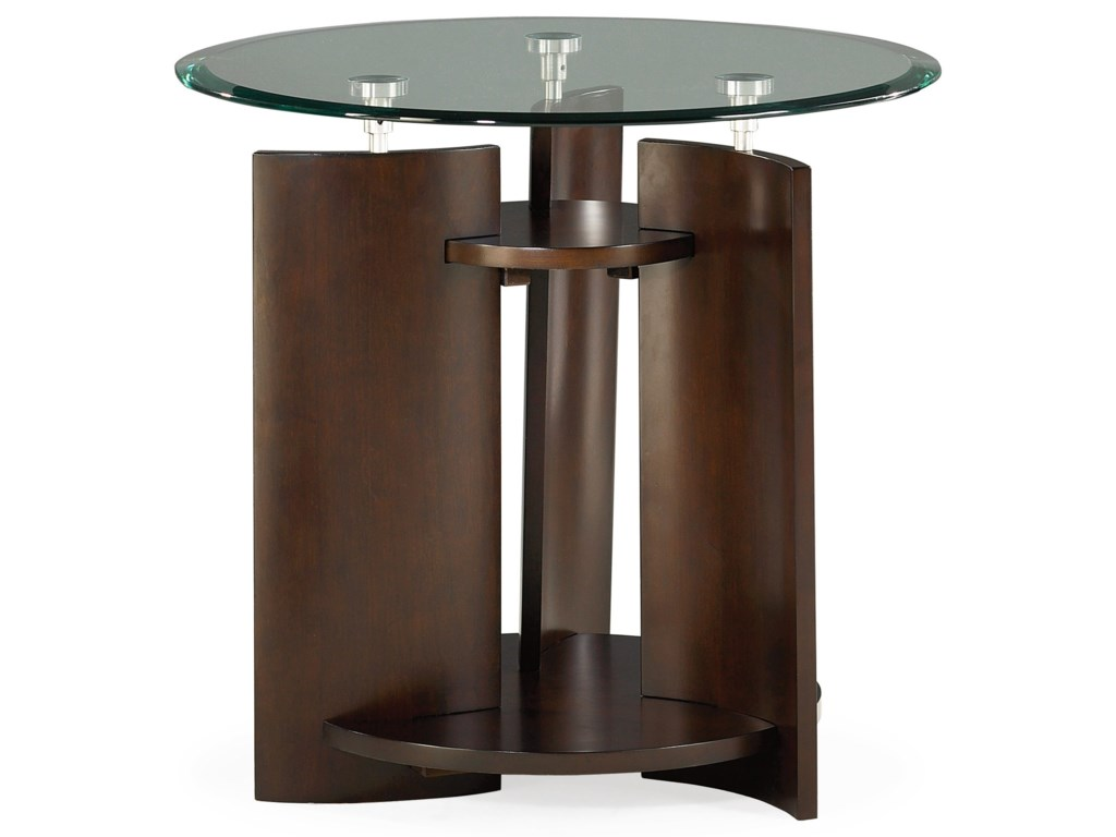 Hammary ApexRound End Table