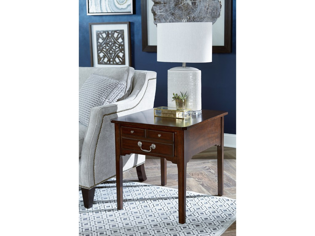 Morris Home ArcadiaRectangular Drawer End Table