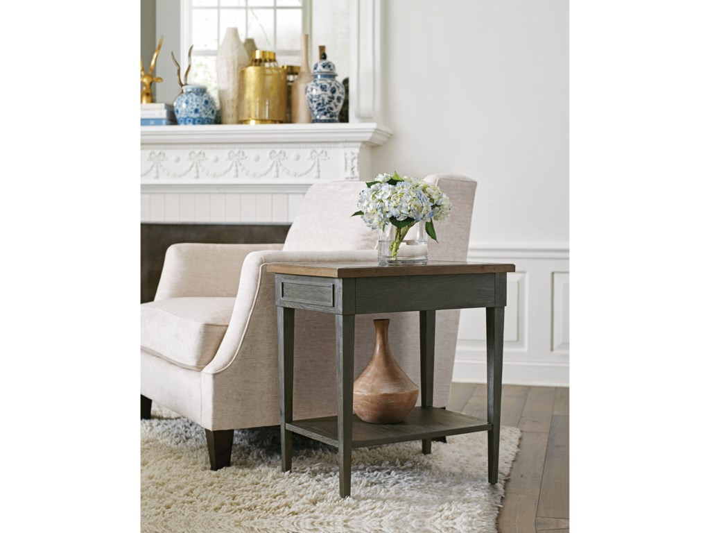 Morris Home ArdennesSabine Chairside Table