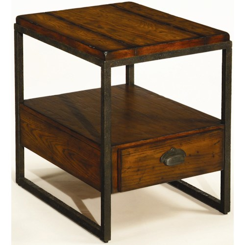 Hammary Baja Rectangular End Table with Drawer