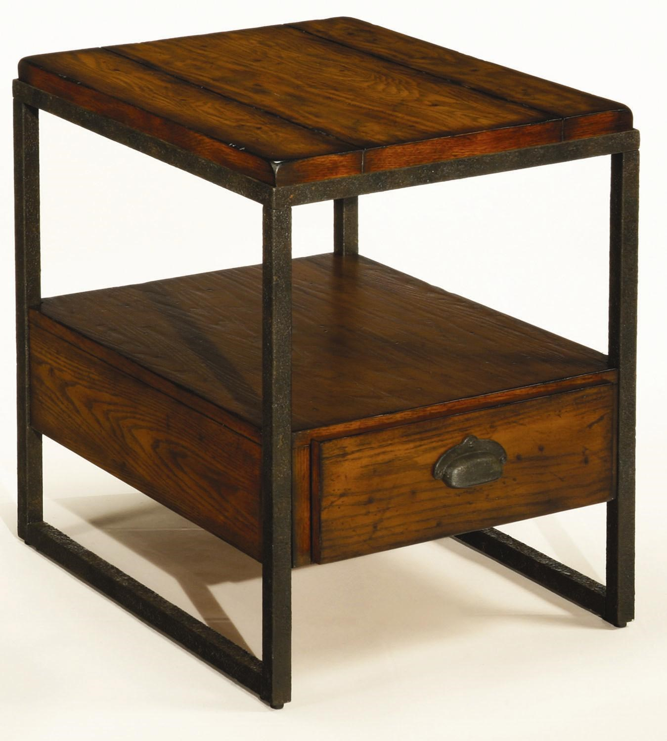Ordinaire Hammary BajaRectangular Drawer End Table ...