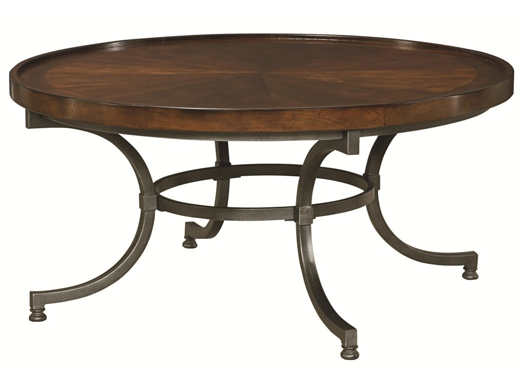 Hammary BarrowRound Cocktail Table