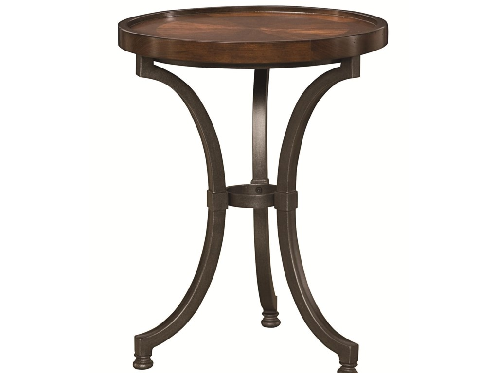 Hammary BarrowRound Chairside Table