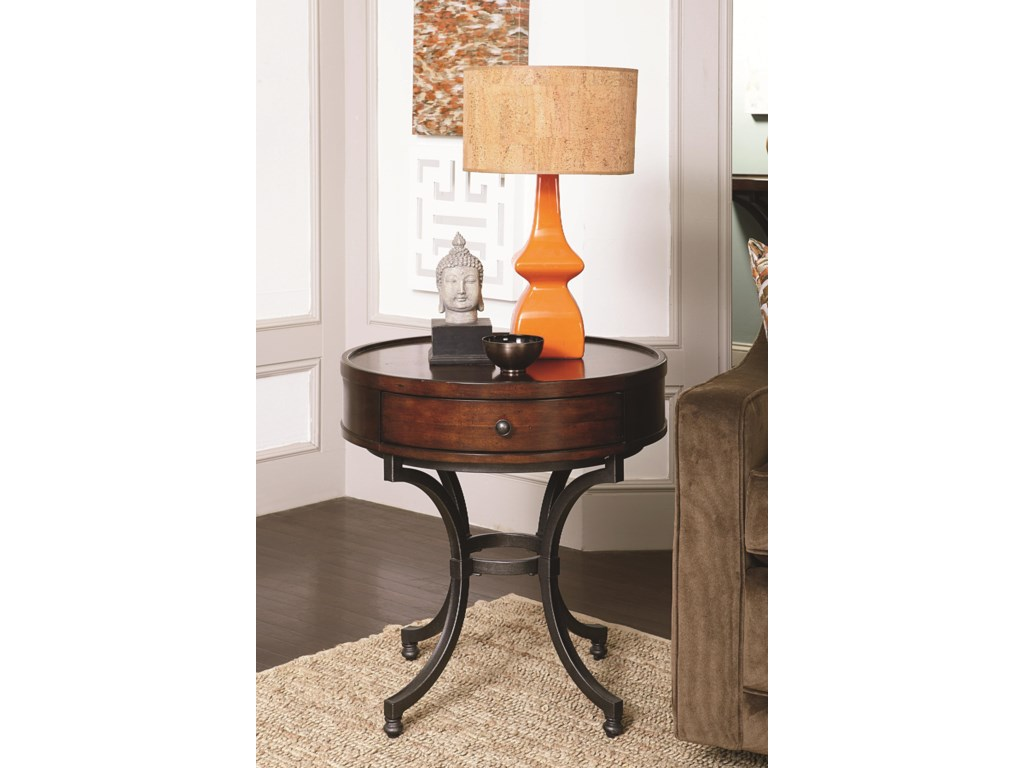 Hammary BarrowRound End Table