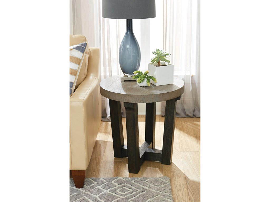 Hammary BeckhamRound Accent Table
