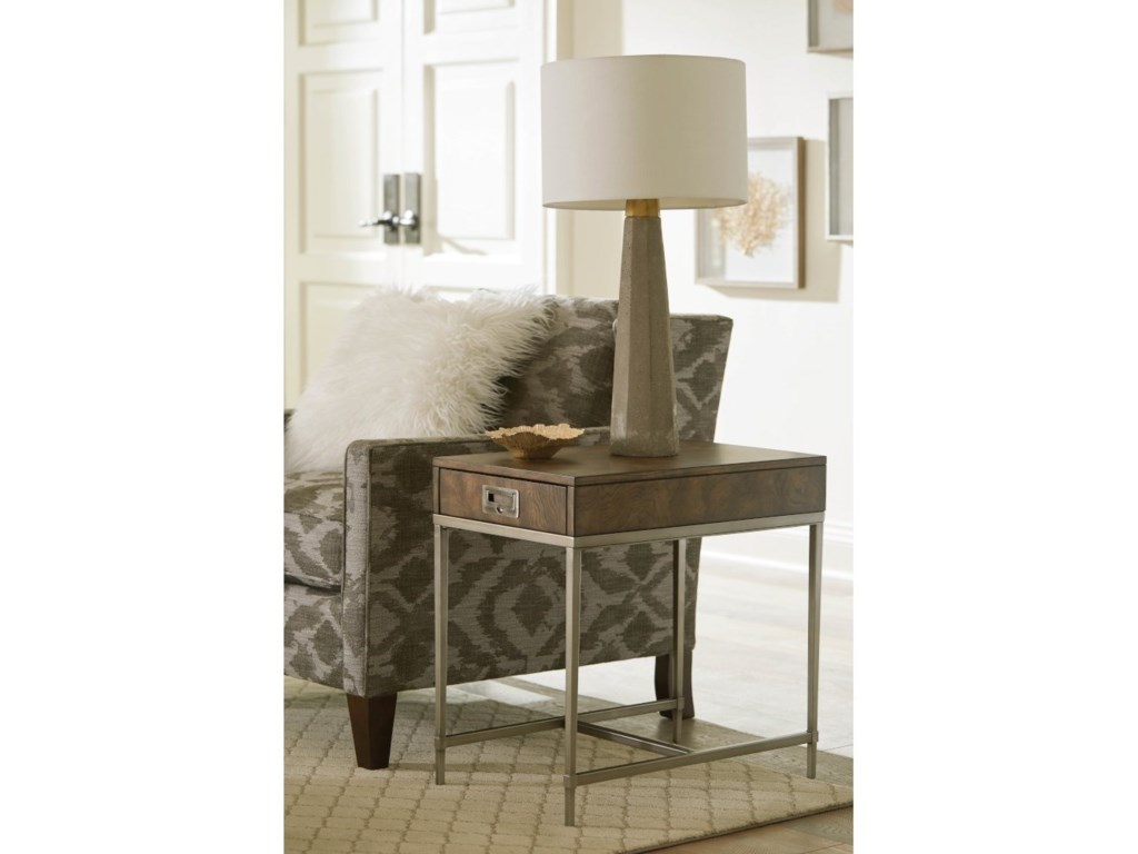 Hammary CarltonChairside Table