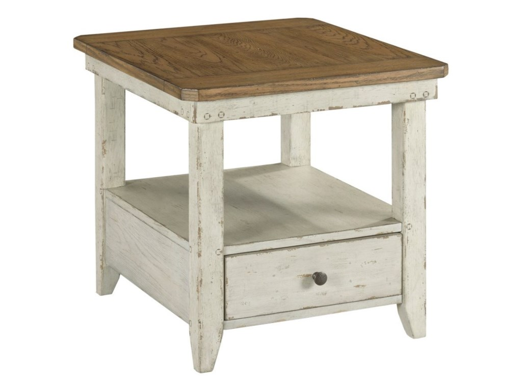Hammary ChambersRectangular Drawer End Table