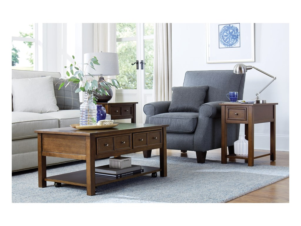 Hammary ChamplainChairside Table