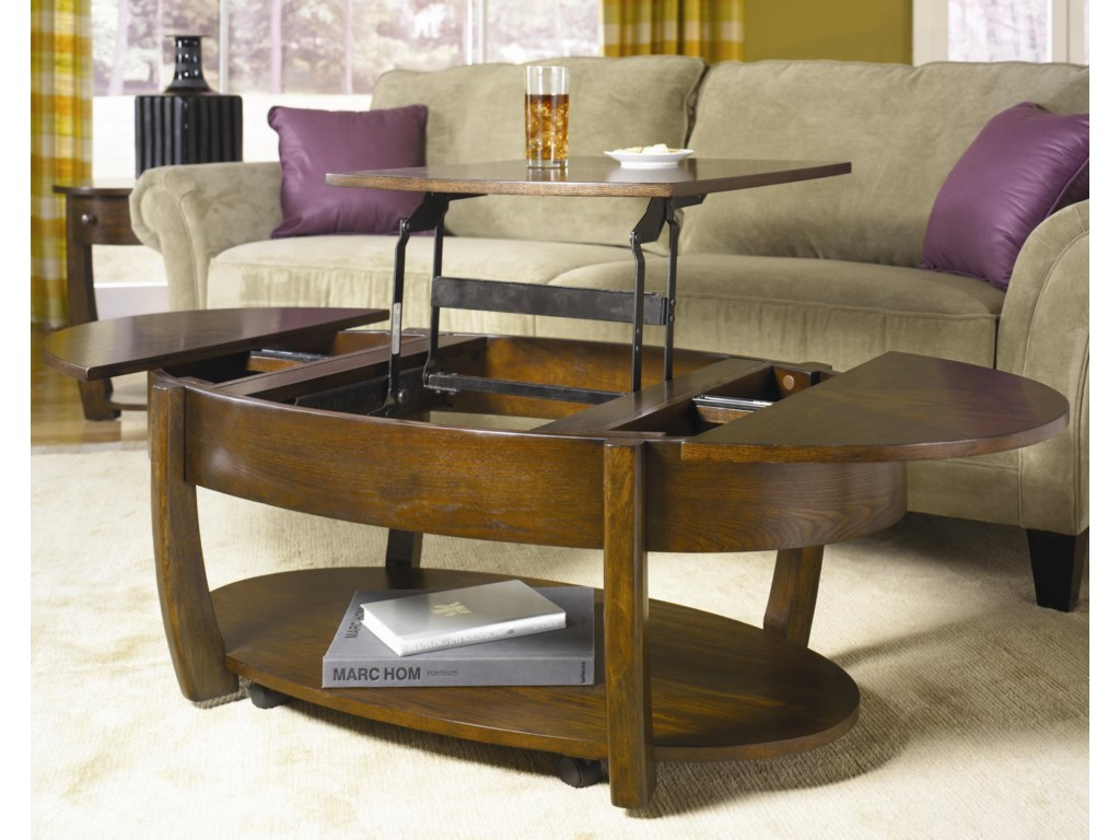Lift chair table - Shown With Lift Top Open