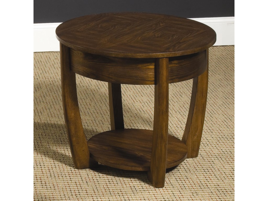 Concierge End Table By Hammary