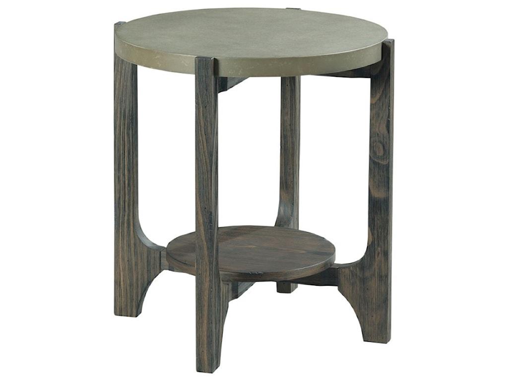 Hammary DelrayRound End Table