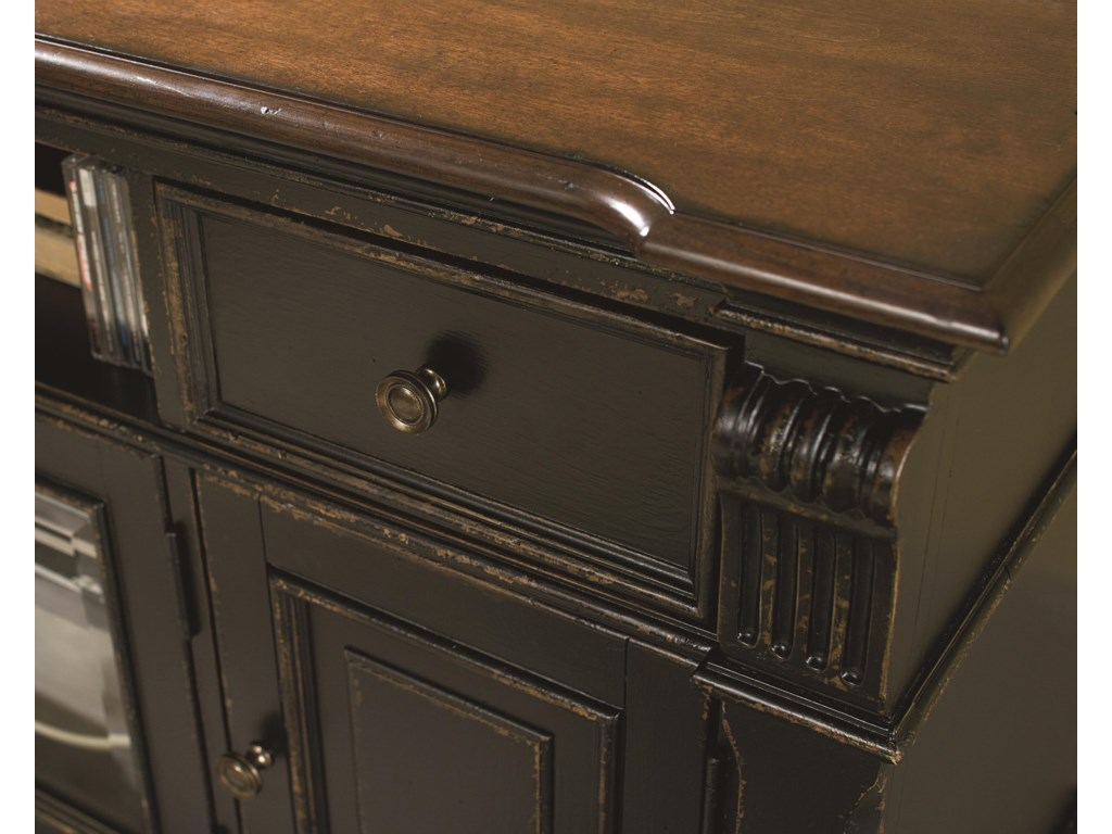 View of Molding and Drawer Detail