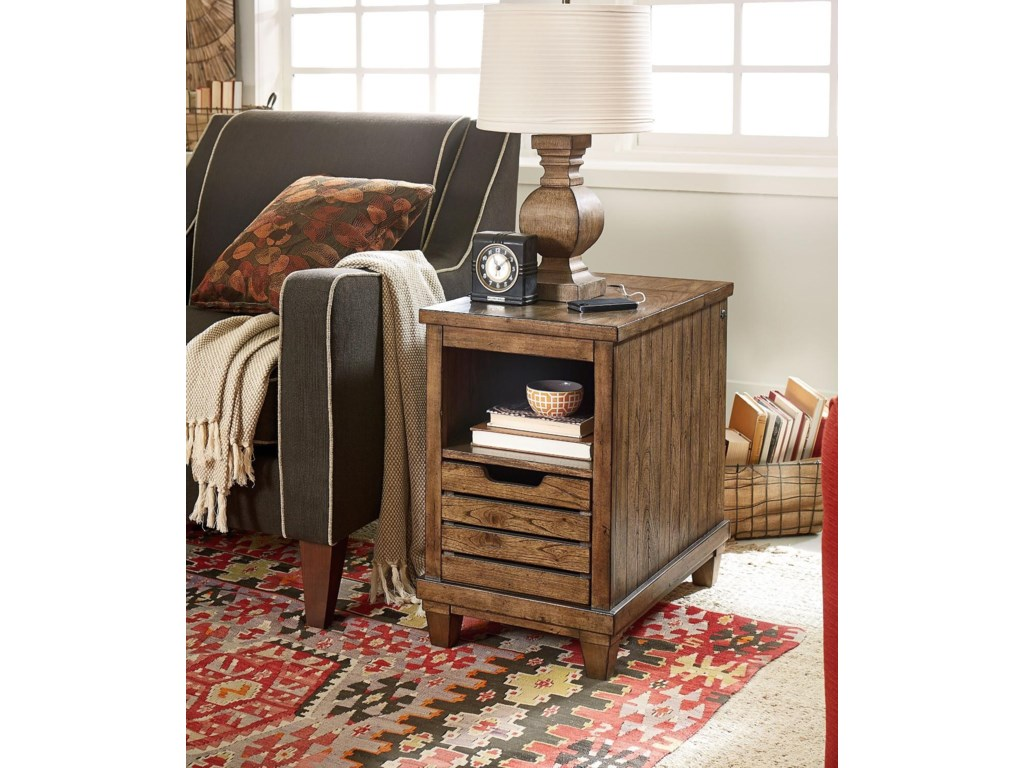 Morris Home Easter ViewEaster View Chairside Table w/Charging