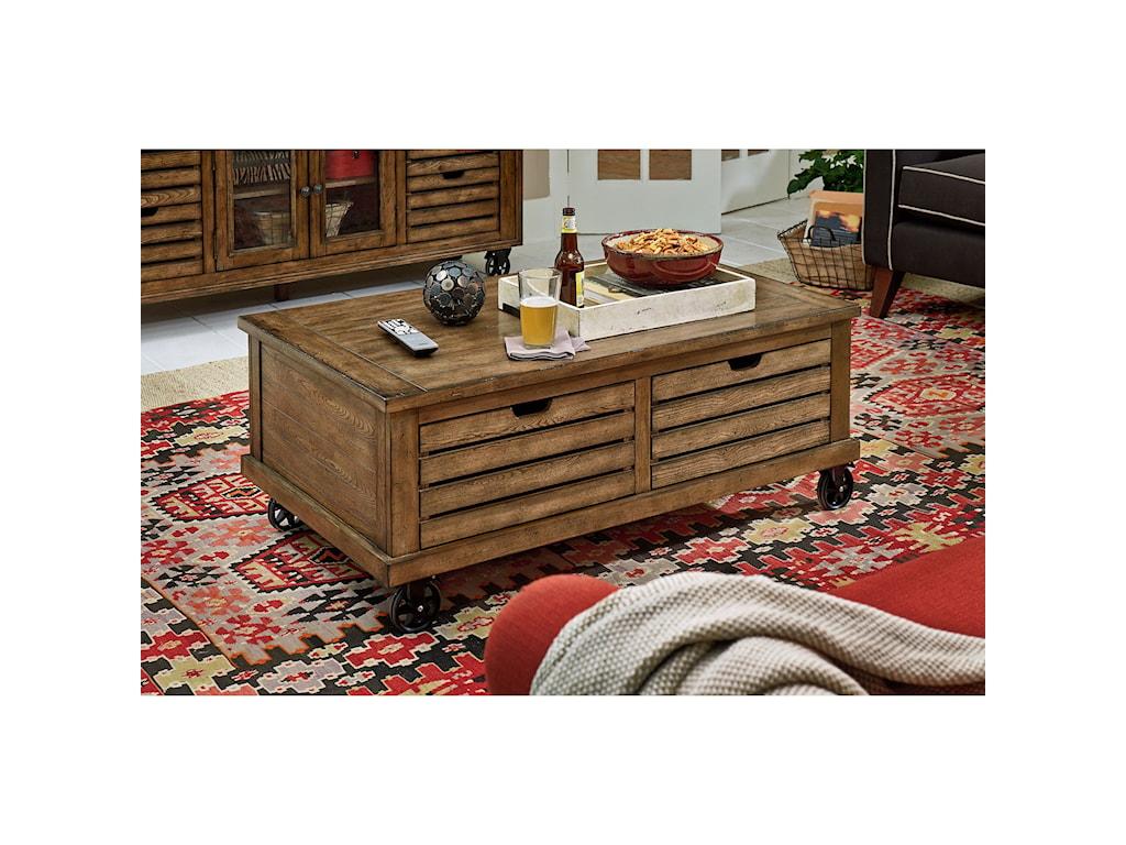 Hammary Elm RidgeRectangular Cocktail Table